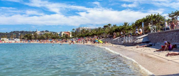 plage ville antibes